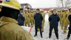 SUPERHÉROS documentaire de la réalisatrice Nathalie Ducharme sur le métier de pompier au Québec produit par Médias Big Deal Productions présenté à CANAL D